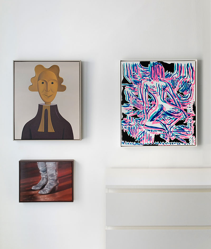 Jonathan Gardner \ The Father, 2010 & Mira Dancy \ Open Rope Pose, 2014 & Theodora Allen \ Live At The Tennessee State Prison (DAC), 2011 - © Emilia Jane for Collecteurs