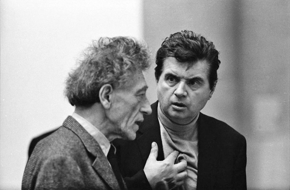 Fondation Beyeler - Baselstrasse 101, 4125 Basel, SwitzerlandFondation Beyeler presents the first-ever joint museum exhibition of  Alberto Giacometti and Francis Bacon, illuminating the relationship between the two outstanding protagonists of modern art who were at once friends and rivals.Image: Alberto Giacometti and Francis Bacon, 1965 © Graham Keen