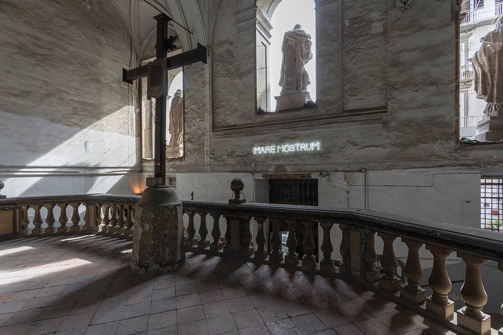 Collezione Agovino at the church of San Giuseppe delle Scalze.©Maurizio Esposito for Collecteurs.Runo Lagomarsino \ Mare Nostrum , 2016