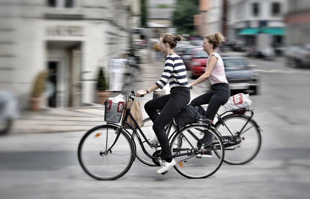 1. Grab a bike - Queen Louise's Bridge, 1371 Copenhagen
