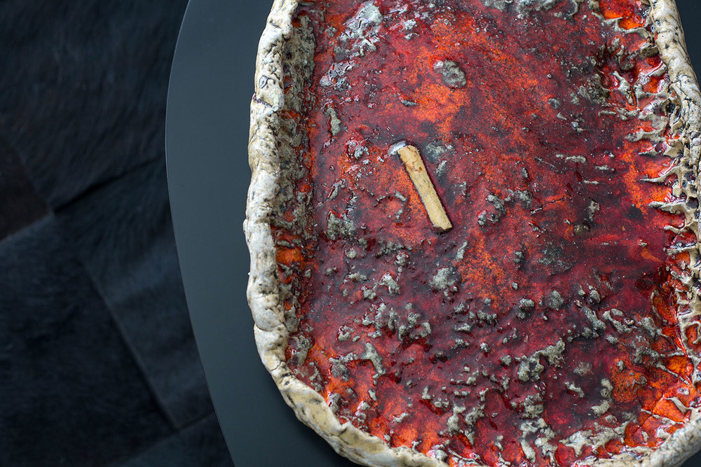 Sterling Ruby \  Ashtray 465, 2018.  © Monica McGivern for Collecteurs Magazine