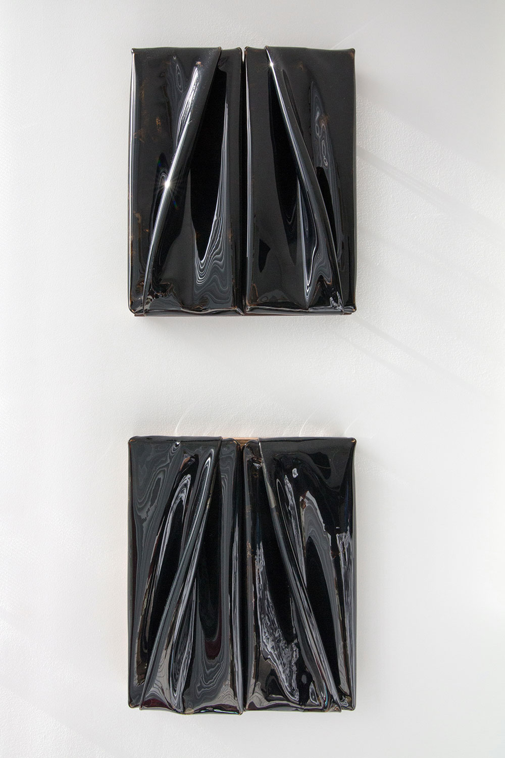 Daniel Turner's  Untitled, 5150, 2013 works.  © Monica McGivern for Collecteurs Magazine