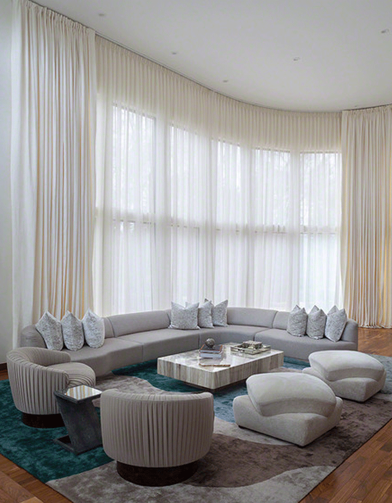 Custom Made Curtains At Globe Interiors Gold Coast And Brisbane Mesmerizing Interior Design Curtains Remodelling