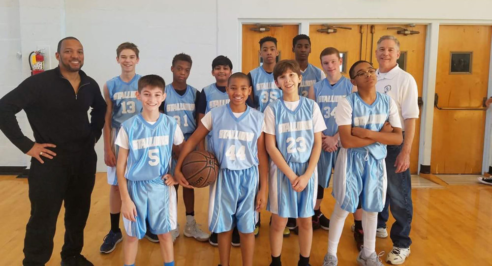 CYO Boys 12U Basketball Team - 2017-18