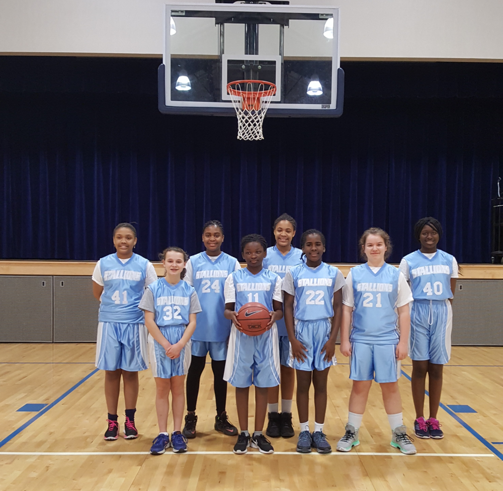 CYO Girls 12U Basketball Team - 2017-18