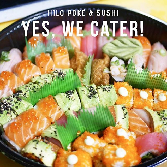 Like the way we roll? 🍣 Let us cater your next holiday party! 🎊 From sushi platters, to poké trays, and everything in between (wait, did someone say gyoza?! 🥟), let us help make your next gathering a success! 😋🎉 📧DM or shoot us a message at hilopokesushi@gmail.com for details! . . . . . #baltimore #baltimorefood #charmcity #charmcityfood #sushi #poke #catering #hilopokesushi #holidays #rhouse