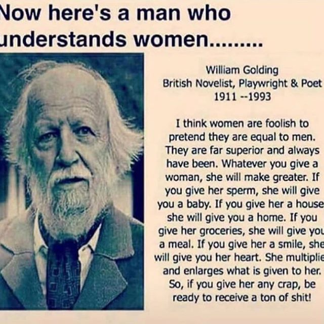 Beautifully said! A man who understands women.