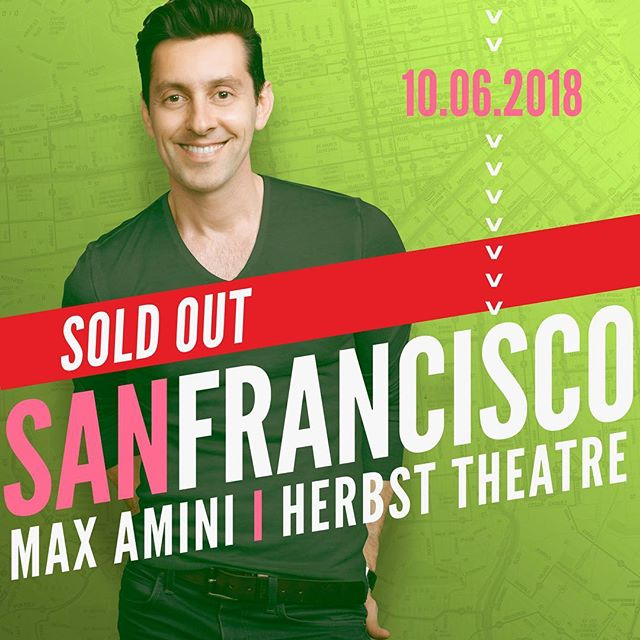SF it's on! See you in a few 🔥