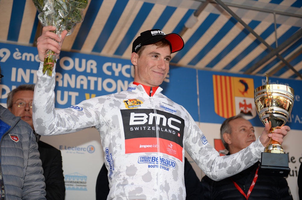 Winning the White Jersey for Best Young Rider at Tour Du Haut Var
