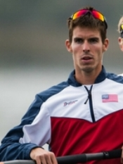 Robin Prendes, US Olympic Rower
