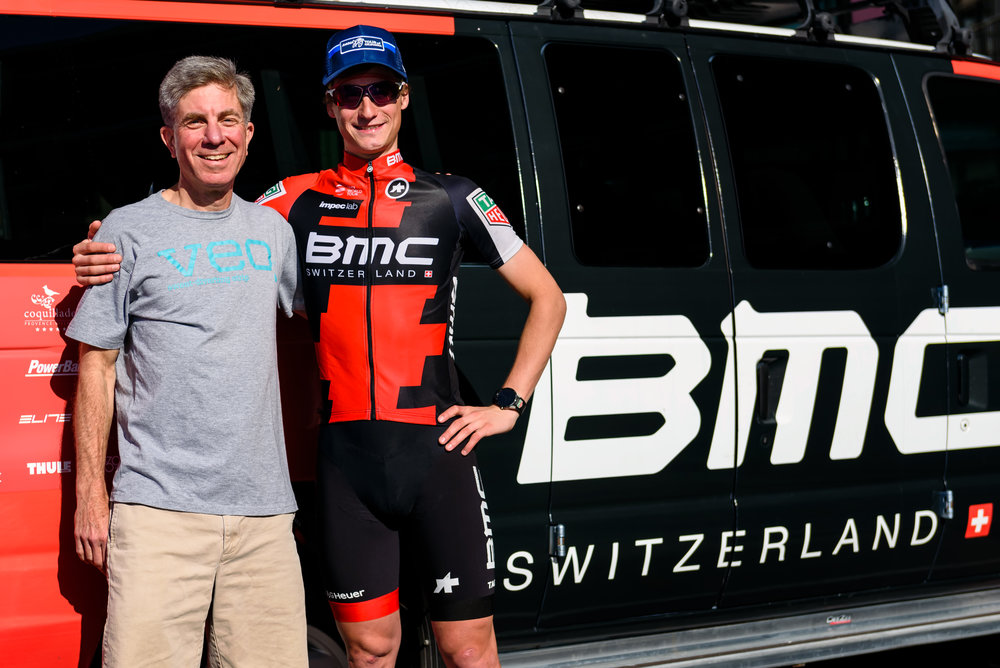 Jim and Tom Bohli at Amgen Tour of California 2017
