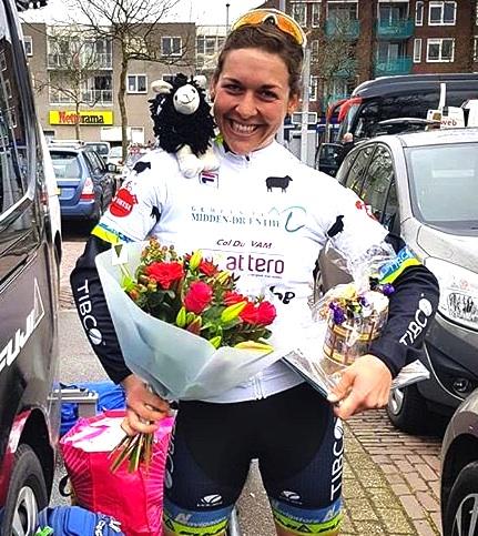 Alison Jackson, Team TIBCO- SVB; Ronde van Drenthe -Queen of the Mountain