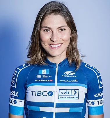 Nicolle Bruderer - Team TIBCO-SVB - Nicky is the Guatemalan National Champion in the road race and time trial and is an all-around rider for Team TIBCO-SVB.