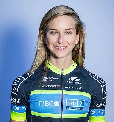 Emma Grant - Team TIBCO-SVB - Half Kiwi, half Brit, Emma was a runner discovered by the talent ID program Girls 4 Gold. 2017 was a comeback year for Emma, and she's looking forward to 2018.