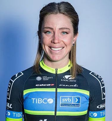 Emily Newsom - Team TIBCO-SVB - Emily had a breakout race at the US National Championships in 2017 and will be racing as her first year as a professional.