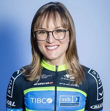 Lex Albrecht - Team TIBCO-SVB - A powerful climber, Lex has represented Canada 4x at the UCI World Championships and is 7x Quebec Champion. Lex is returning to Team TIBCO-SVB for her 2nd season.