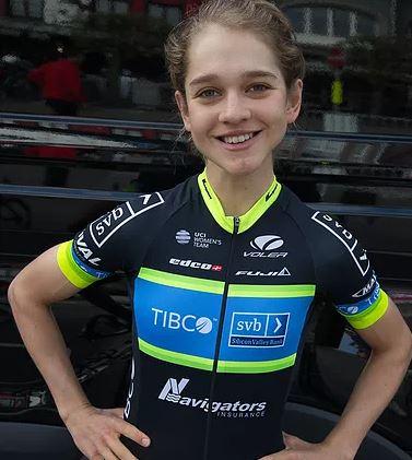 Alice Cobb - Team TIBCO-SVB - A strong climber dubbed as the
