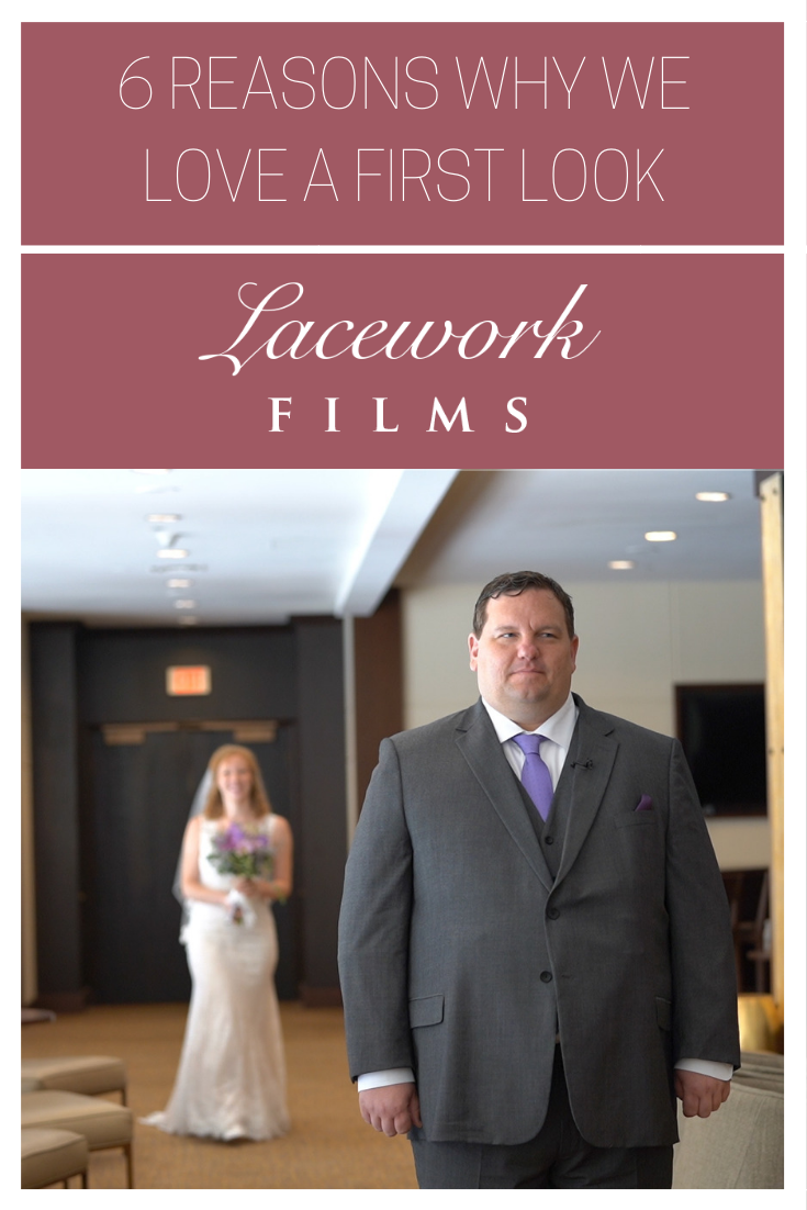 photo: Lacework Films Omaha Wedding Videography First Look