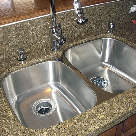 Great Choosing A Sink For Your Granite Countertop