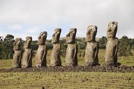 Maoi on Easter Island