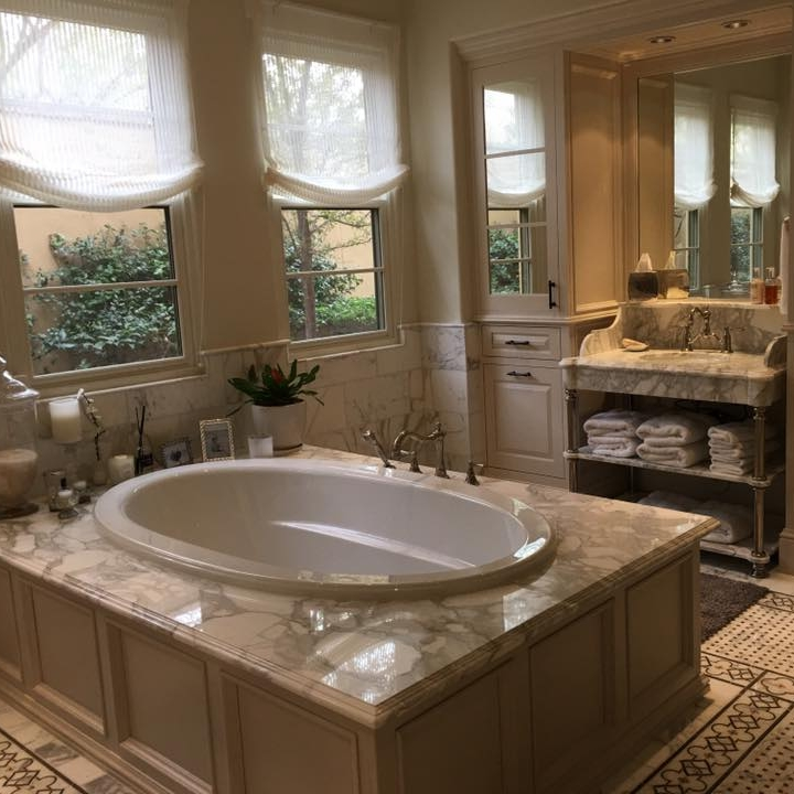 Romantic Stone Tubs — JDM Countertops