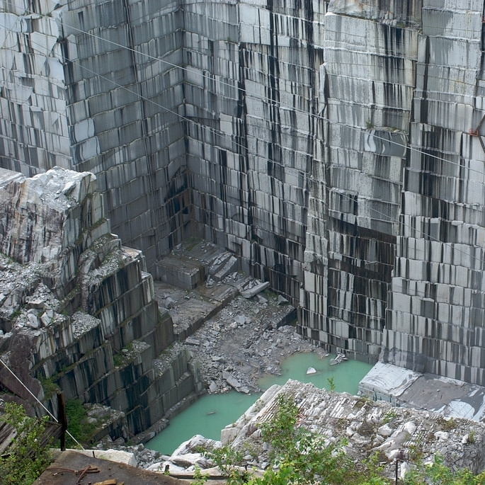 Rock of Ages Quarry by Ben B Miller
