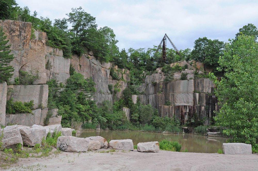 Norcross Brothers Granite Quarry