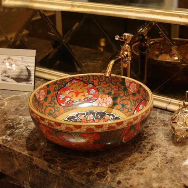 China. Handmade ceramic.