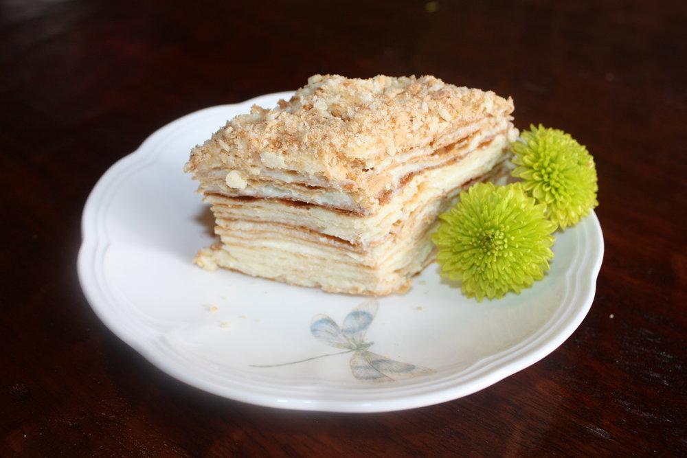 Cardamom Napoleon Cake Mamalifelove
