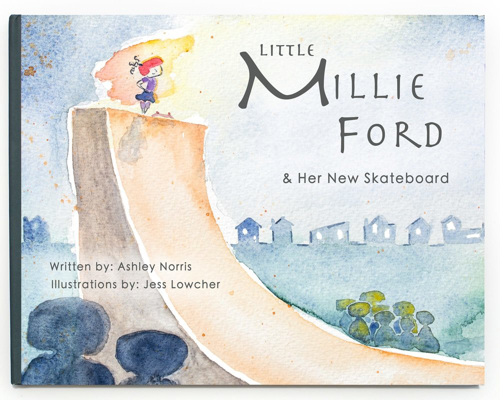 Little-Millie-Ford-and-Her-New-Skateboard-kid's-book