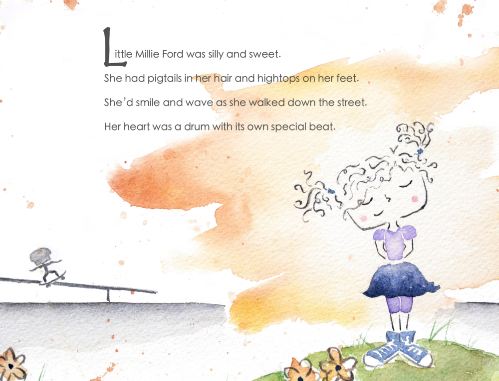 Little-Millie-Ford-and-Her-New-Skateboard-children's-book
