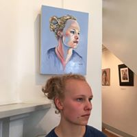 """Finalist in 2016 Cambridge Studio Gallery """"Who is looking at you? Prize"""
