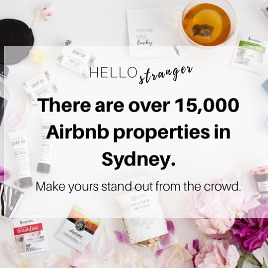 Our Kits make your @airbnb property the place to be! 🏘#standoutfromthecrowd #hellostranger #airbnb #stayz