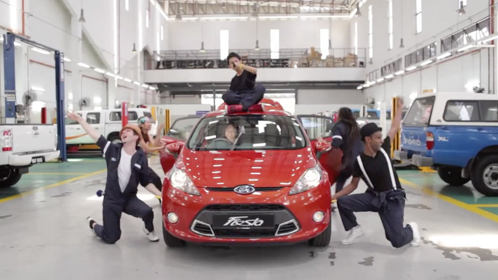 FORD FIESTA - AUTOELECTRO / 2012 / TVC