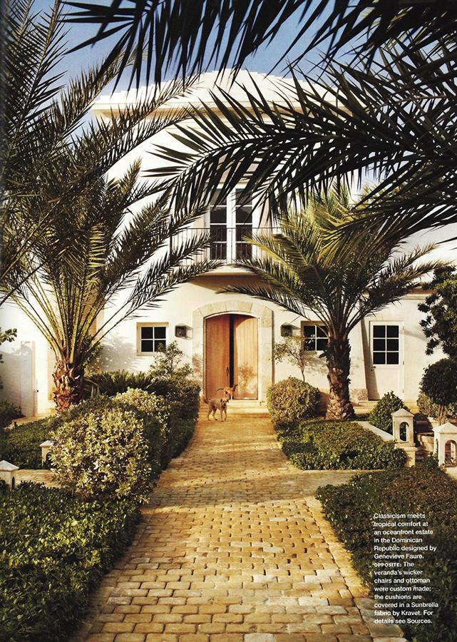 República Dominicana    Un gran y encantador patio rodeado de edificios de inspiración mediterránea en el corazón de la República Dominicana.