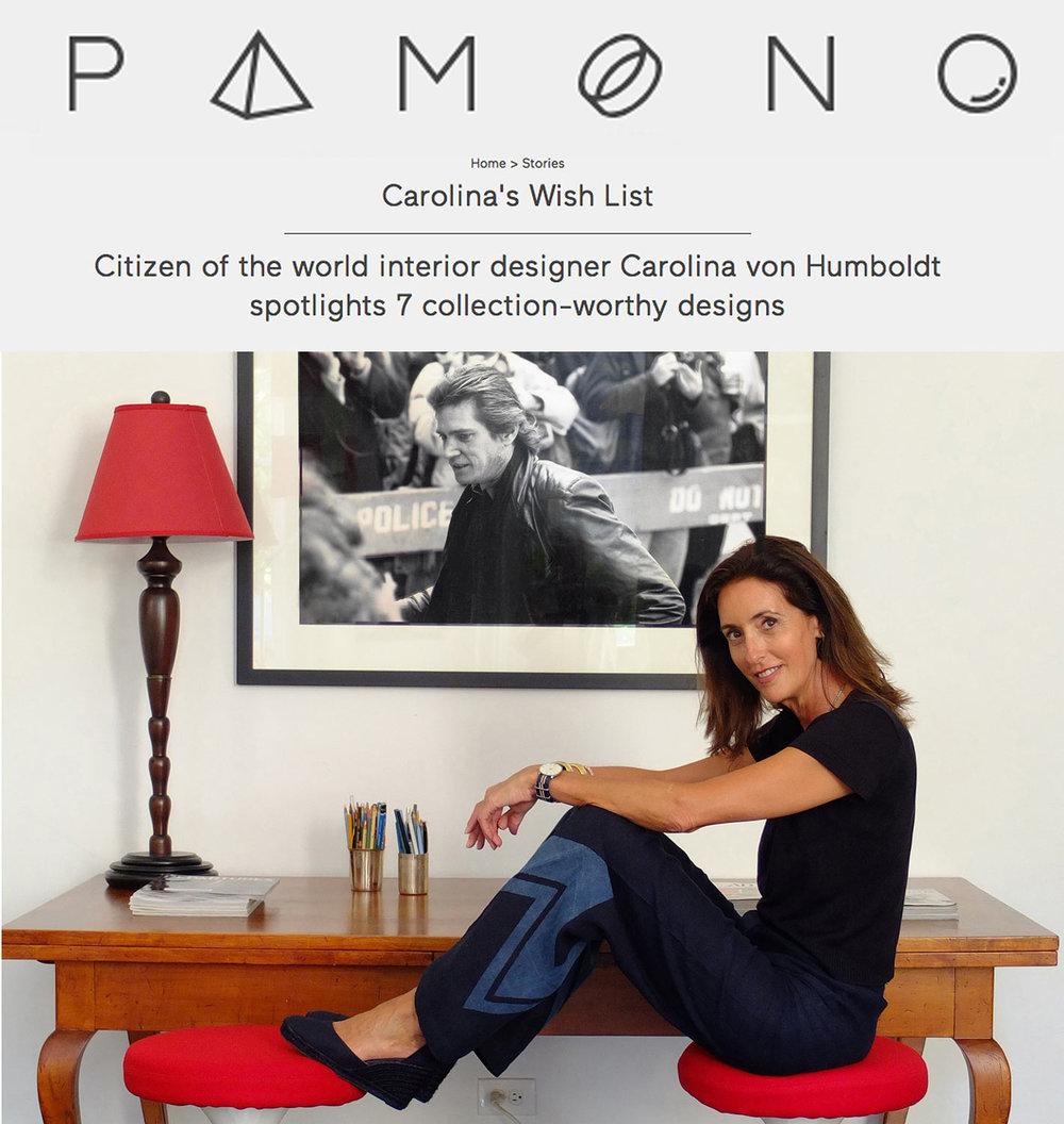 Carolina's Wish List / Pamono