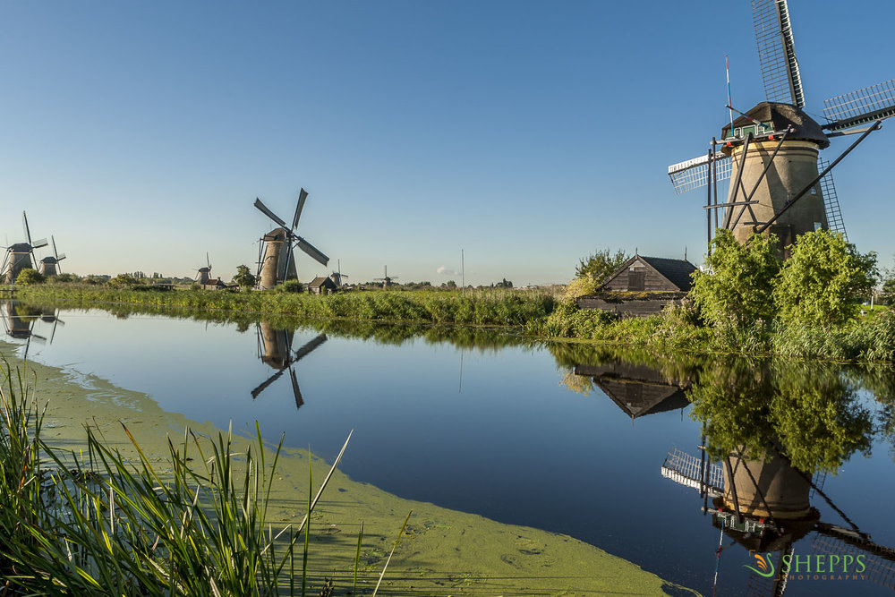 Holland - Kinderdijk