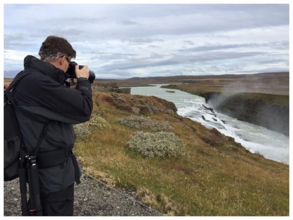 Iceland - Gullfoss Waterfalls