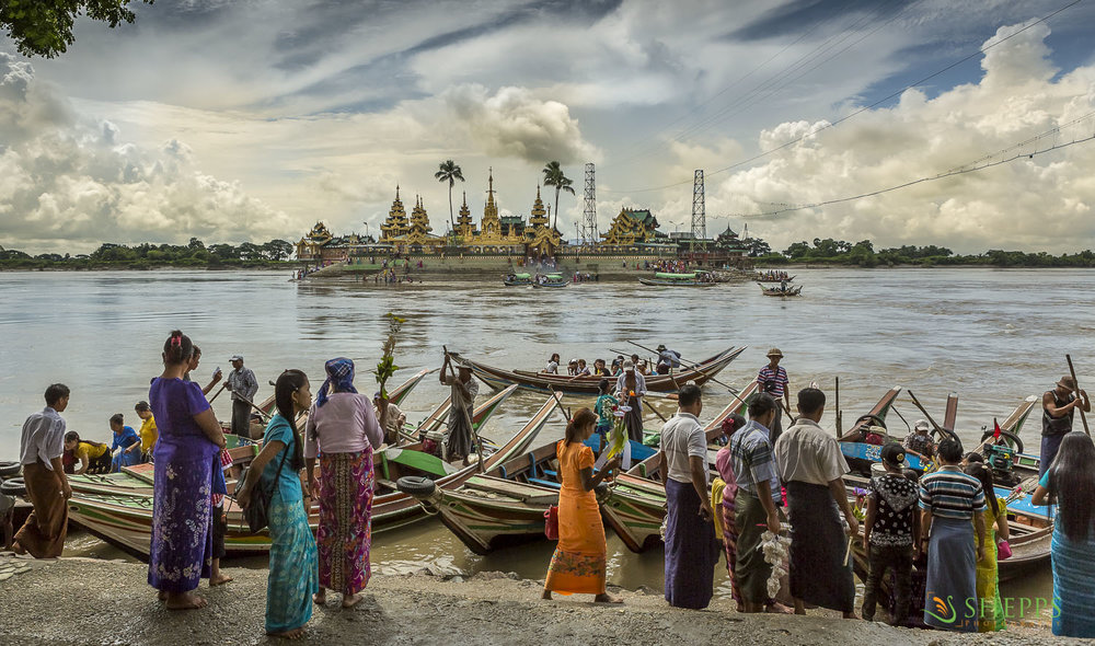 Myanmar - Floating Shrine