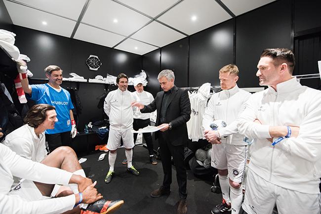 Jose Mourinho and his team.jpg