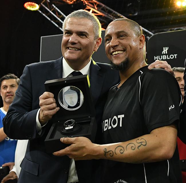 Ricardo Guadalupe, Roberto Carlos.JPG