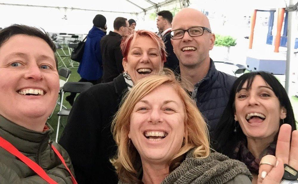 Selfie fun at CUAsia 2018