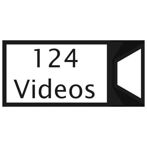 124 videos