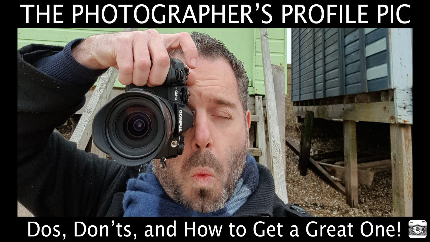 The Photographer's Profile Pic – Dos, Don'ts, and How to Get a Great One!