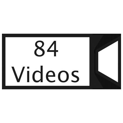 84 Videos