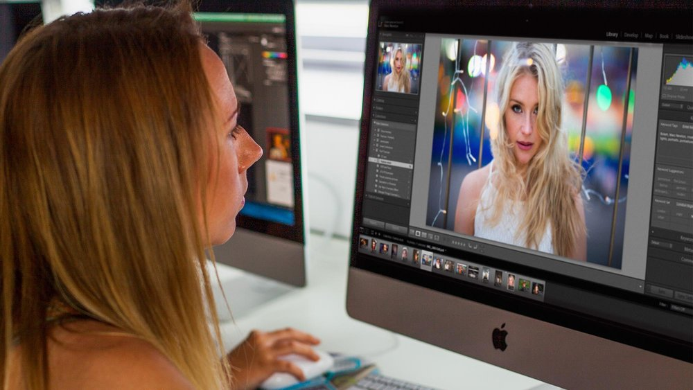 Student learning in Lightroom