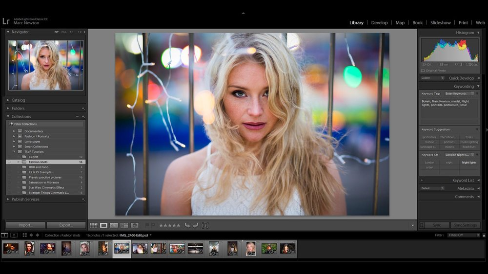 Lesson 6 – Library Module - This lesson will teach you how to view, manage, organize, sort, compare, and rate your photos in Lightroom. It's the home base for working with photos after importing them into Lightroom and a really important part of Lightroom to master!