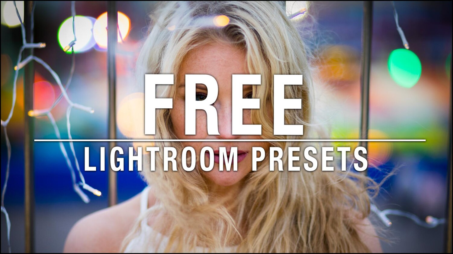 Free Lightroom Presets — The School of Photography - Courses
