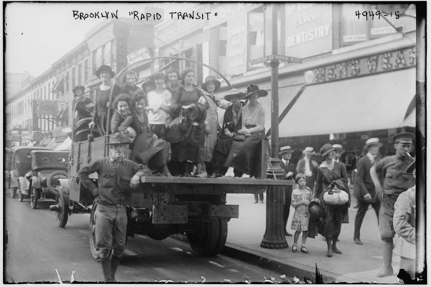 Brooklyn Rapid Transit (circa 1900) from Bain News Service