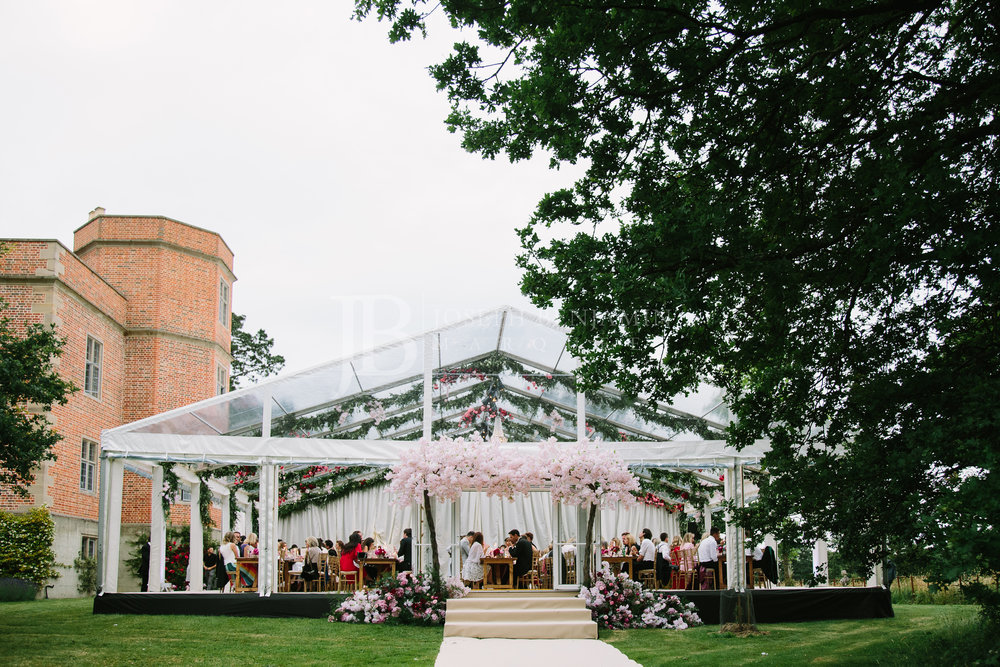 Wedding Marquee Exterior Buckinghamshire